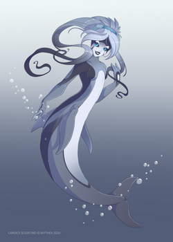 Striped Dolphin ~ Day 19