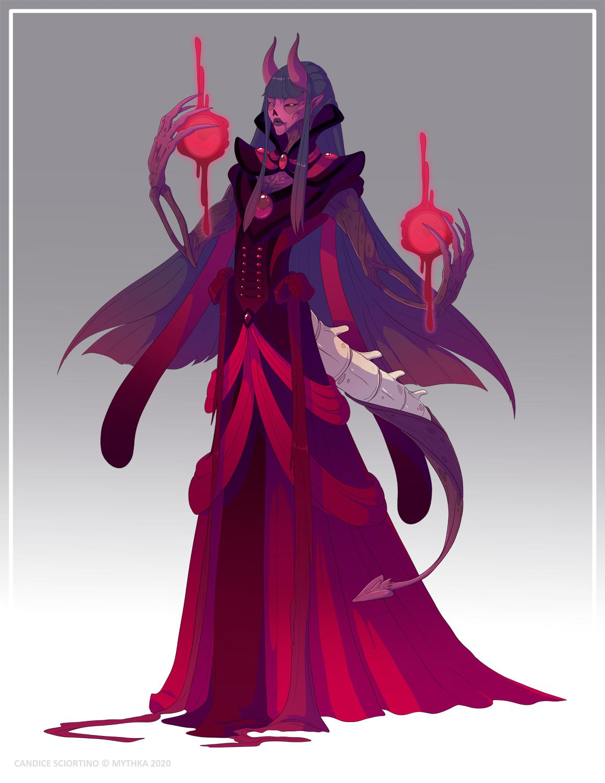 Zanthia the Blood Witch