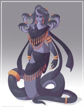 Saldari the Serpent Queen