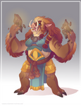 Rogda Orc Clan Chieftain