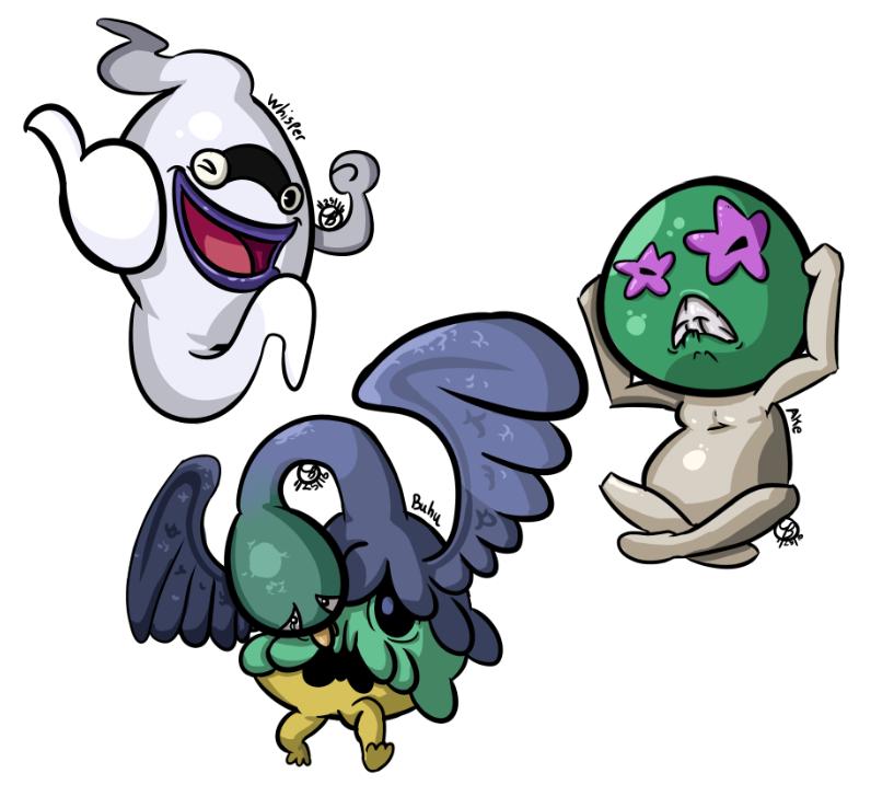 Yo-Kai Watch - Group 1 by Chemical-Beatz