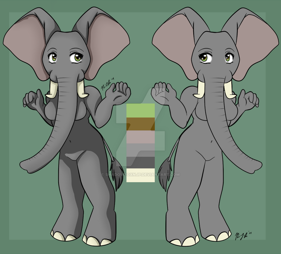 Chibiadoptbaseelefant1 by Shadowfoxnjp