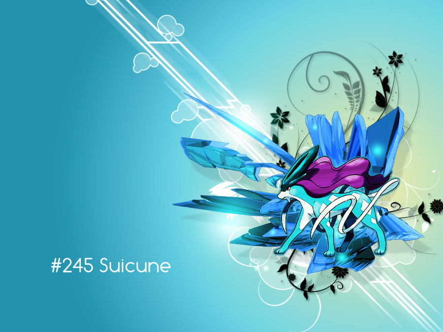 suicune pokemon hd wallpapers - photo #12