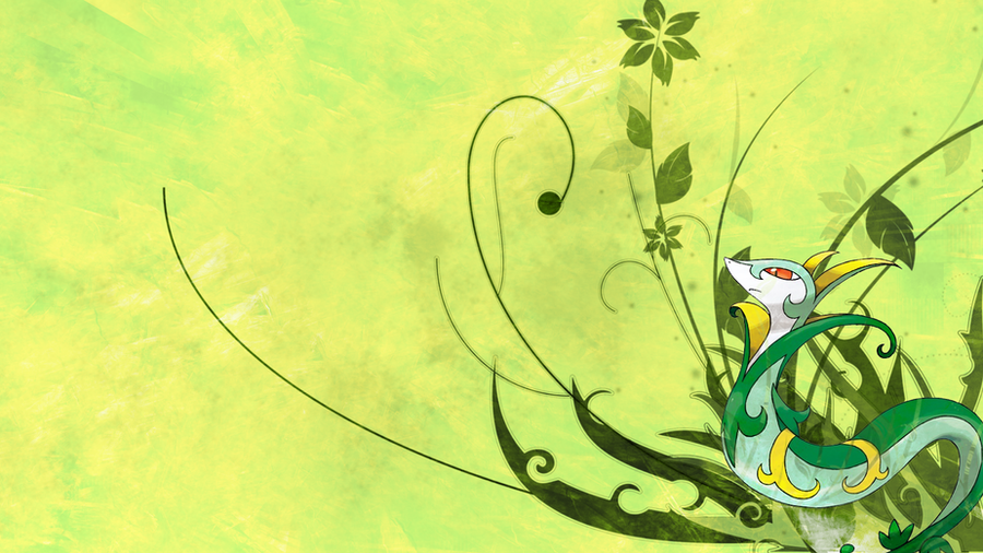 Serperior Wallpaper by Marudeth on DeviantArt