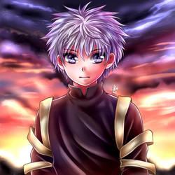 HxH :: Killua :: by Ponepyon