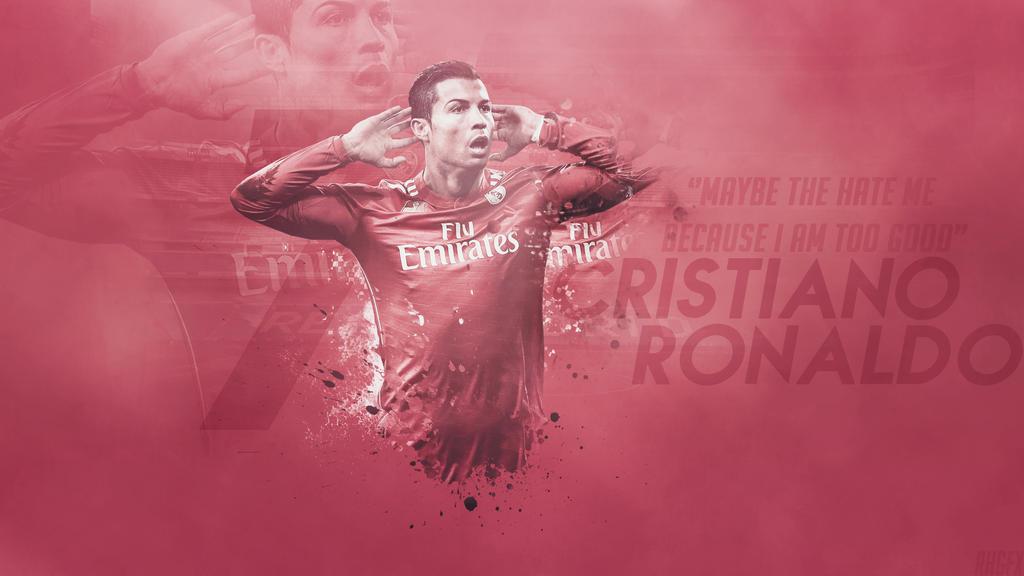 Cristiano Ronaldo 2015 Wallpaper PInk Kit 2014-15 by RHGFX2 on ...