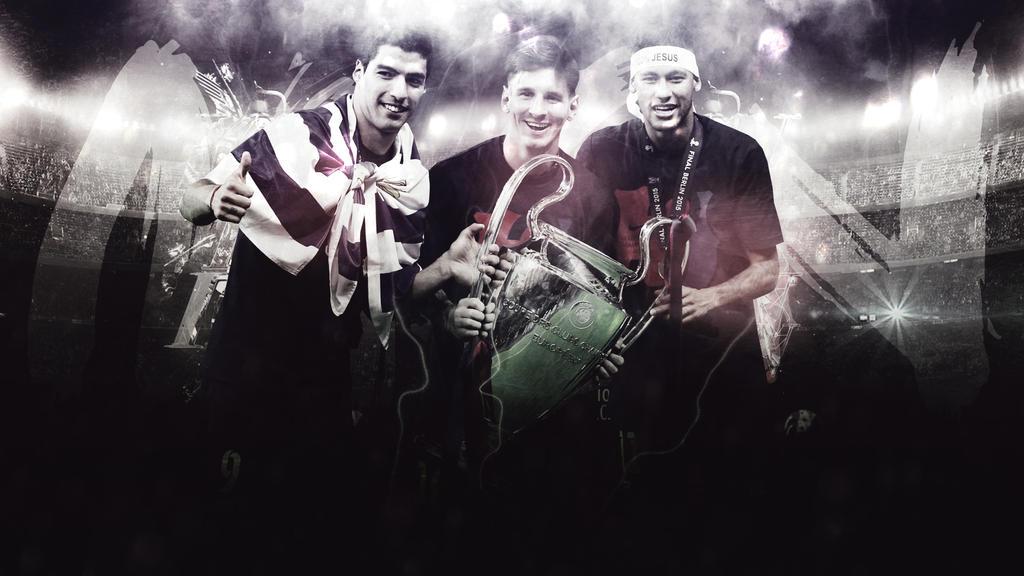 Messi Neymar Suarez Wallpaper - WallpaperSafari