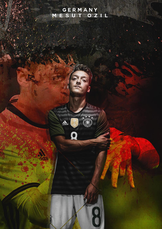 Mesut Ozil Euro 2016 HD By RHGFX2