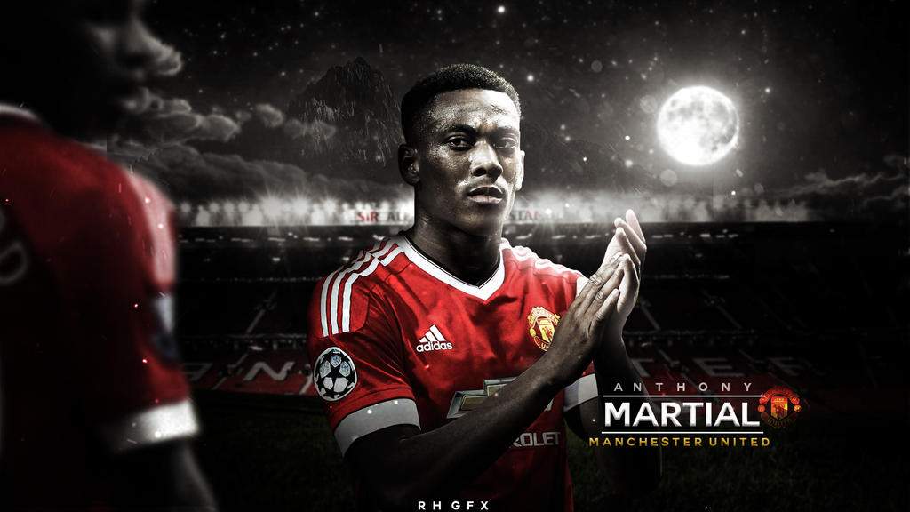 Anthony Martial 2016 HD Wallpaper. By RHGFX2 On DeviantArt