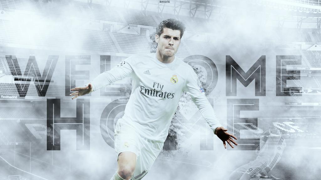 Alvaro Morata 2016/17 Real Madrid By RHGFX2 On DeviantArt