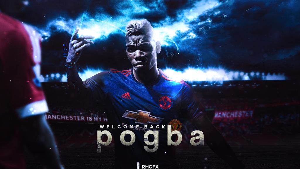 Paul Pogba I Manchester United I 2016 By RHGFX2 On DeviantArt