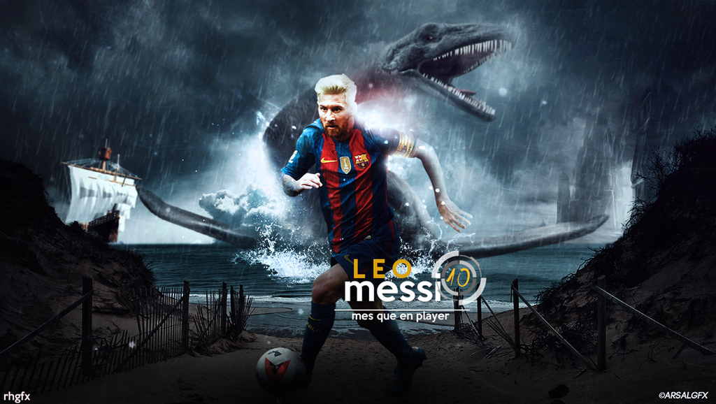 Messi Manipulation Wallpaper 2016 Ft Arsal GFX By RHGFX2