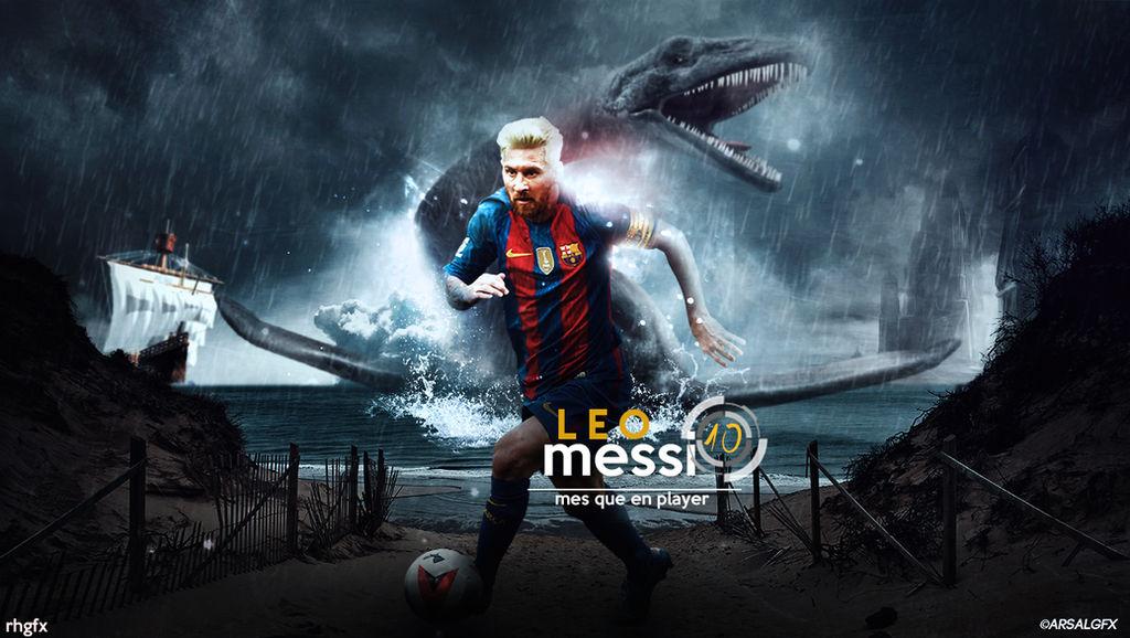 Messi Manipulation Wallpaper 2016 Ft Arsal Gfx By Rhgfx2 On