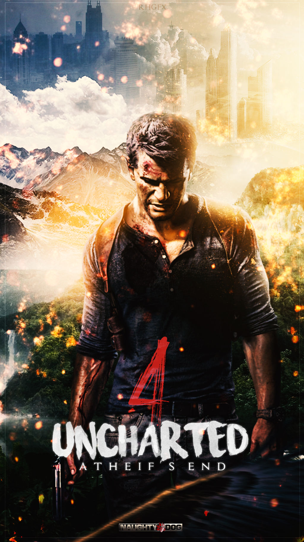 Uncharted 4 Wallpaper Rhgfx By Rhgfx2 On Deviantart