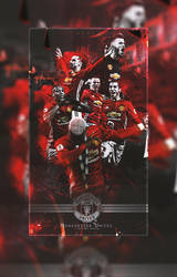 Manchester United | Wallpaper | 2017 by RHGFX2