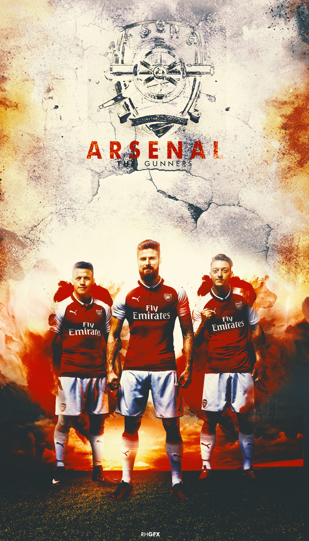 Arsenal | Wallpaper | 2017 by RHGFX2 on DeviantArt