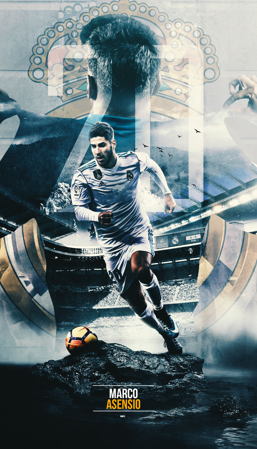 Marco Asensio Wallpaper 2018 By Rhgfx2 On Deviantart
