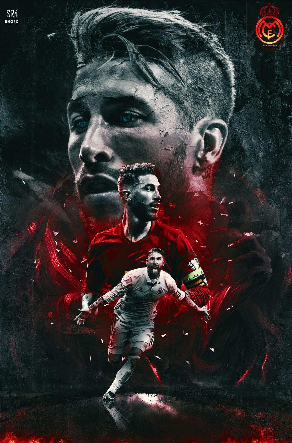Sergio Ramos 2018 Wallpaper Hd By Rhgfx2 On Deviantart