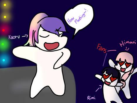 Meanwhile with Kaoru, Rimi, and Himari...