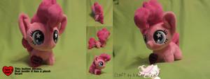 [SOLD] Pinkie Pie Chibi pony by NakedSkull