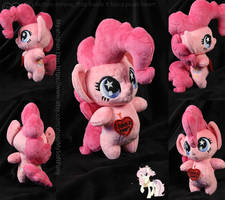 Commission | Antro-chibi PinkiePie
