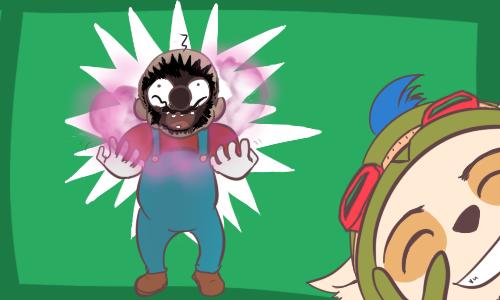 Mario has been slain! by Risu-ruru