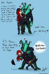 Miss Fortune and Thresh