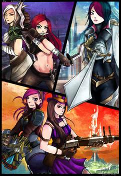 Runeterra girls
