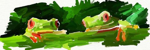 Frogs by sefkobayashi