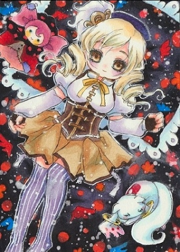 Mami Tomoe by OoOoPitchBlackOoOo