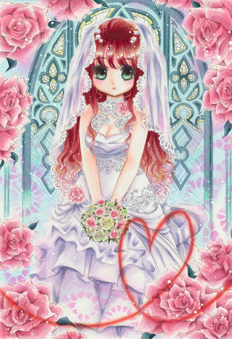Sweet Bride by OoOoPitchBlackOoOo