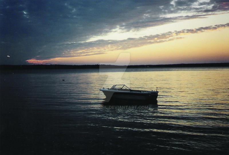 Sunset at Misc Island