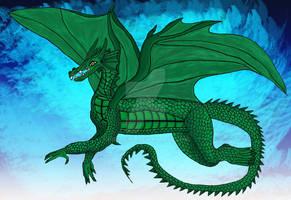 Green Dragon - colored