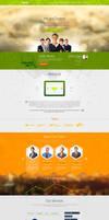 Single Page PSD