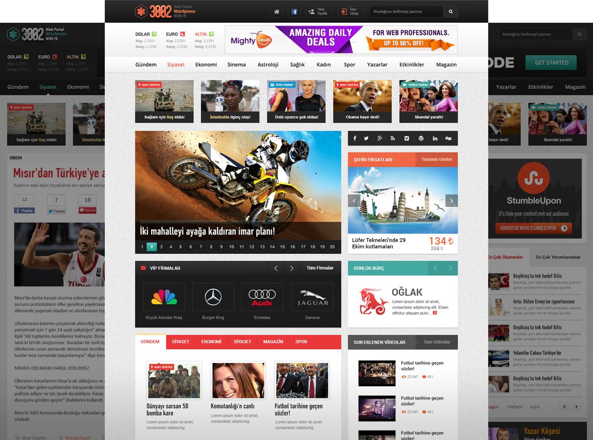 3002 News Portal by trcakir on DeviantArt