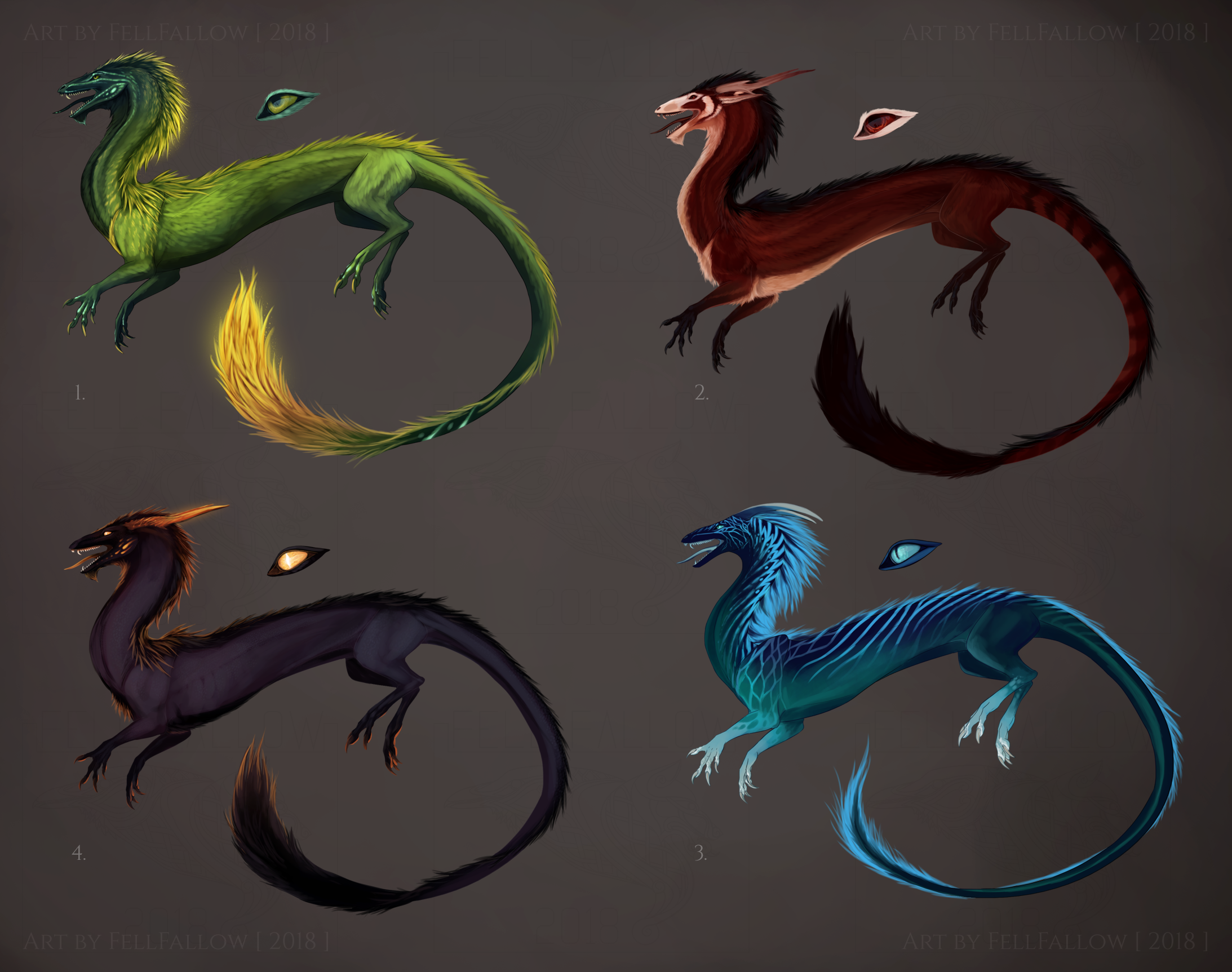 [ CLOSED ] Eastern Dragon Adopts [SB 15]