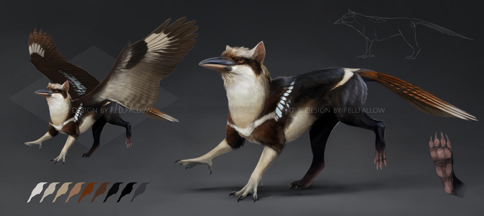 [ CLOSED ] Gryphon: Kookaburra/Tasmanian Devil