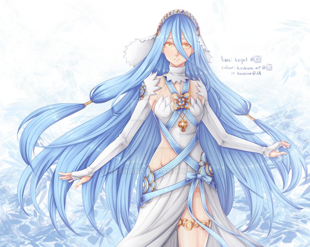 Azura Colouring [Fire Emblem]