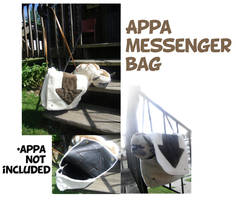 Appa messenger bag by kyoukenbyou