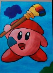 Kirby Artista by StarFenix25