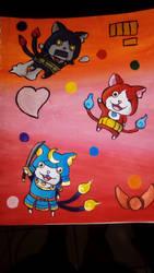 3 Cat's by StarFenix25