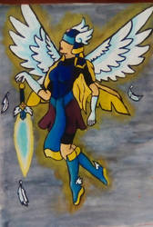 Angel of light by StarFenix25