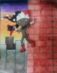 Spark the egy jester. by StarFenix25
