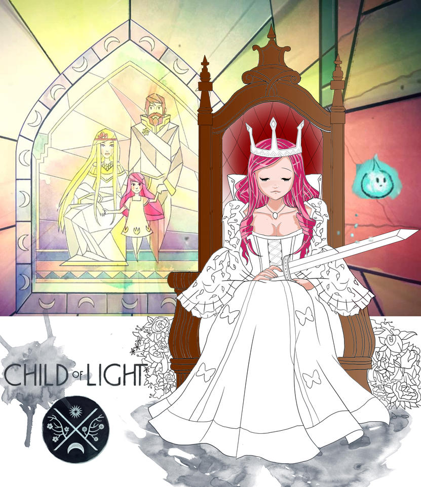 Aurora - Child of Light by WolfyGirl95 - 229.7KB