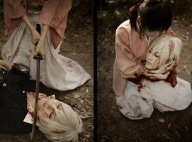 Hakuouki Saito Hajime by 0hagaren0