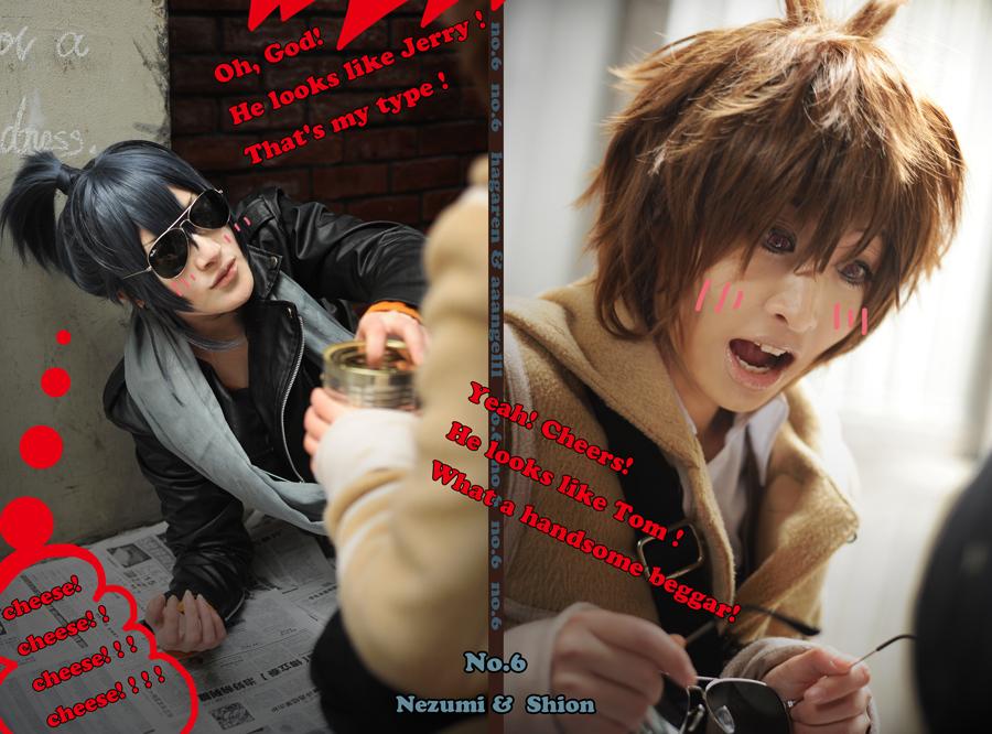 No.6 Nezumi Shion by 0hagaren0