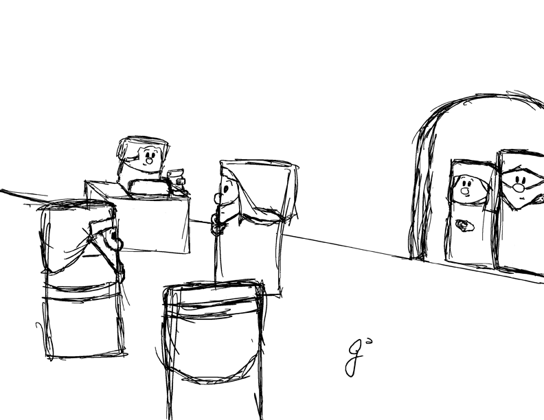 Teaching the Sketches by frizguru