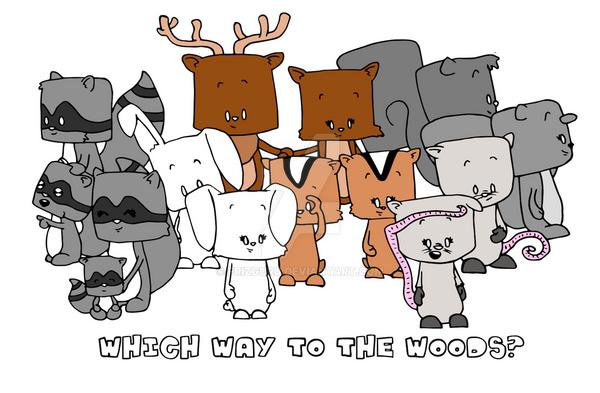 WoodlandCritters by frizguru