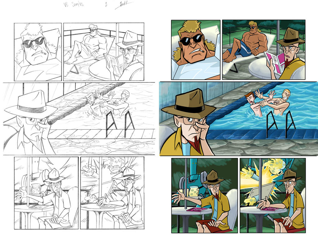 venture brothers coloring pages - photo#16