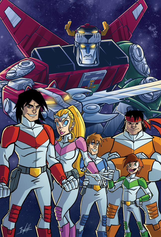 Voltron Force Characters Names Voltron by nate...